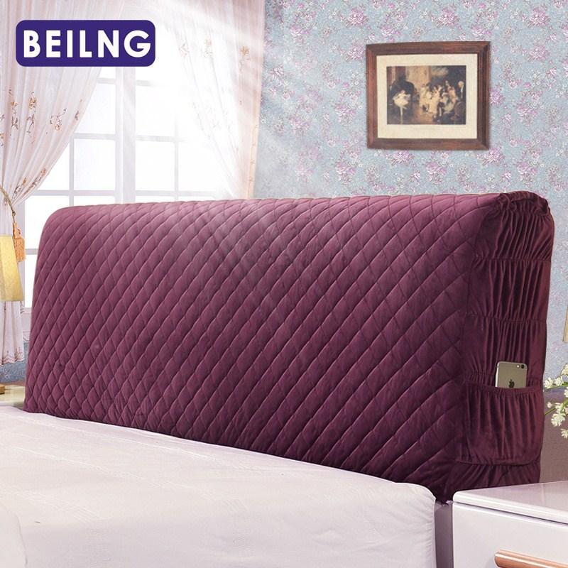 欧式实木皮床头罩布艺床头保护罩10月10日最新优惠