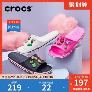 crocs女外穿卡骆驰贝雅卡骆班拖鞋