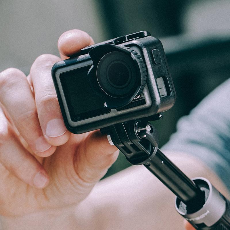 PGYTECH用于大疆dji OSMO ACTION配件镜头遮光罩灵眸运动相机配件