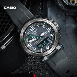 casio旗舰店PRW-6600Y防水运动男士手表户外登山表卡西欧官网正品
