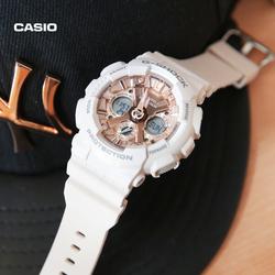 casio旗舰店GMA-S120MF运动防水女士手表卡西欧官网G-SHOCK正品