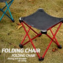 户外超轻折叠椅登山野营便携排队小板凳公园老人凳子坐地铁火车凳