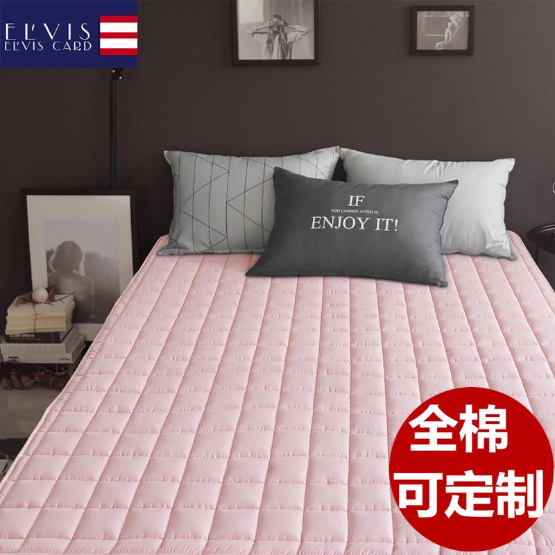 防螨全棉 床垫垫被1.5米垫子双人家用加厚床褥保护垫软垫褥子防滑