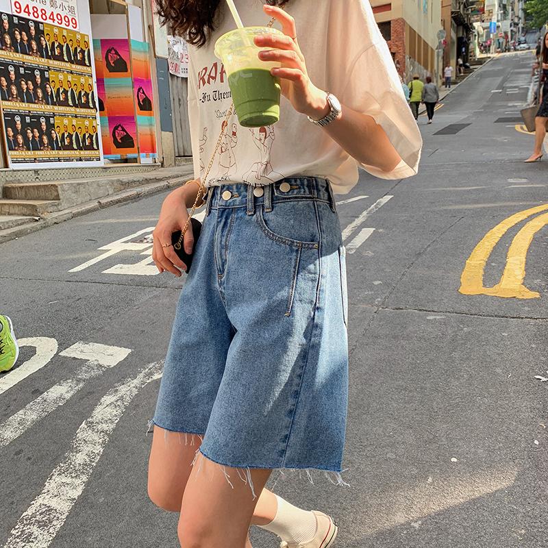 Женские джинсы / Джинсовые шорты Артикул 593449337189