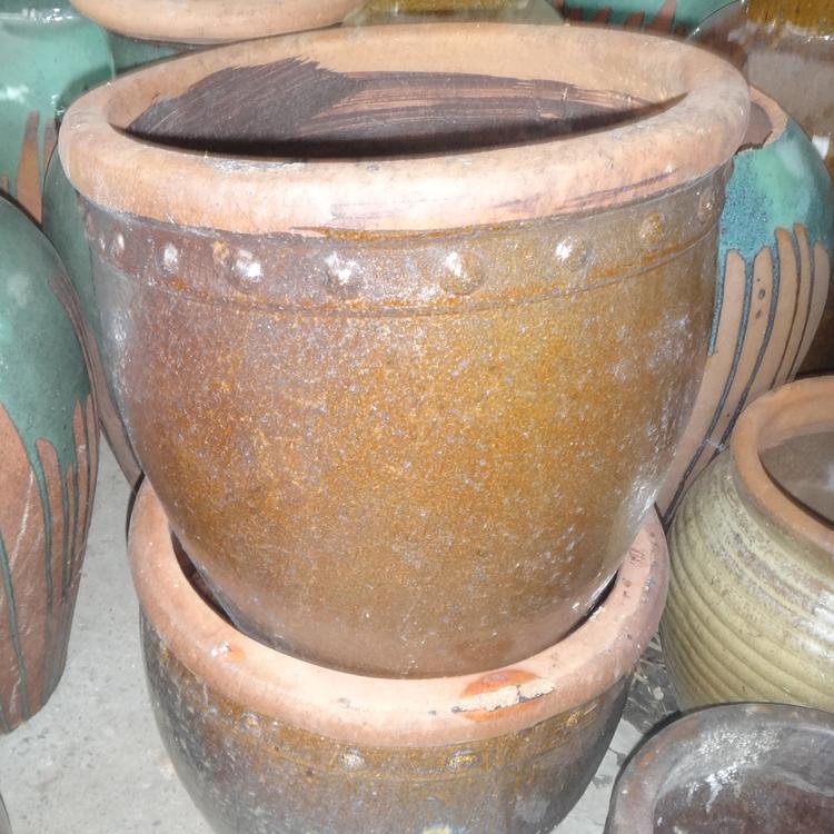 伝統的な花かめの植木鉢の花盆栽盆栽庭園の景観園芸盆栽