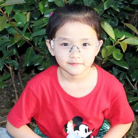 儿童护目镜防风镜护眼防风沙骑行户外运动实验抗冲击小孩防护眼镜