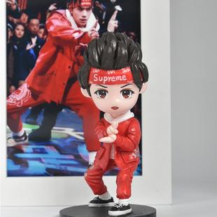 TFBOYS易烊千玺同款周边手办公仔玩偶创意生日礼物照片定制送女生