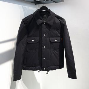 2021冬季新款男装衬衫式羽绒服男士休闲工装夹克外套潮B2ACA4151