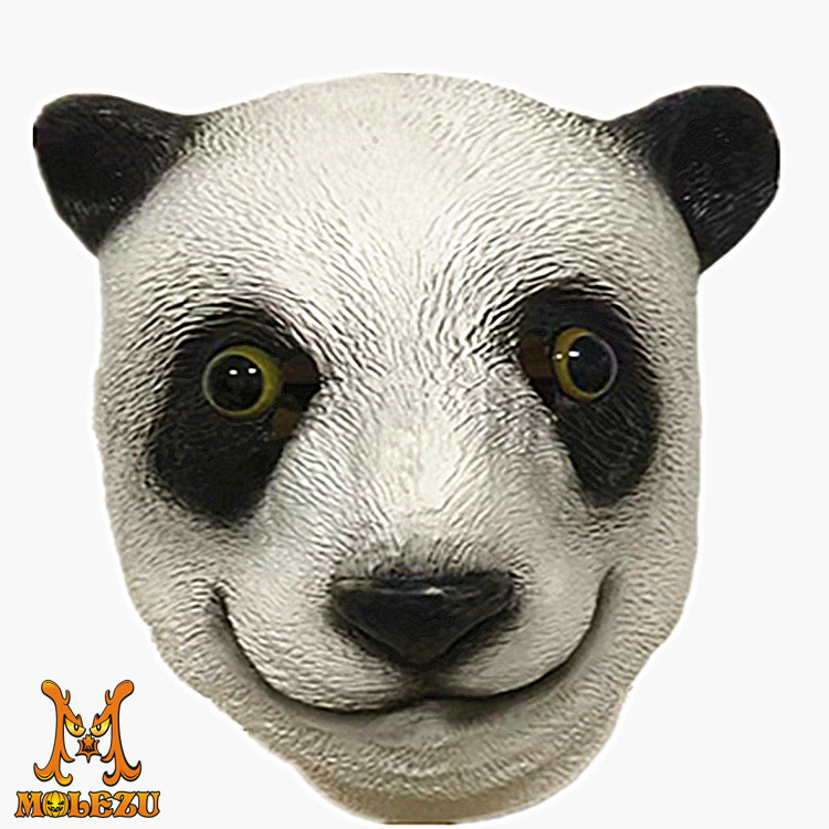New giant panda kung fu panda animal mask headgear Halloween role play props costume gift man