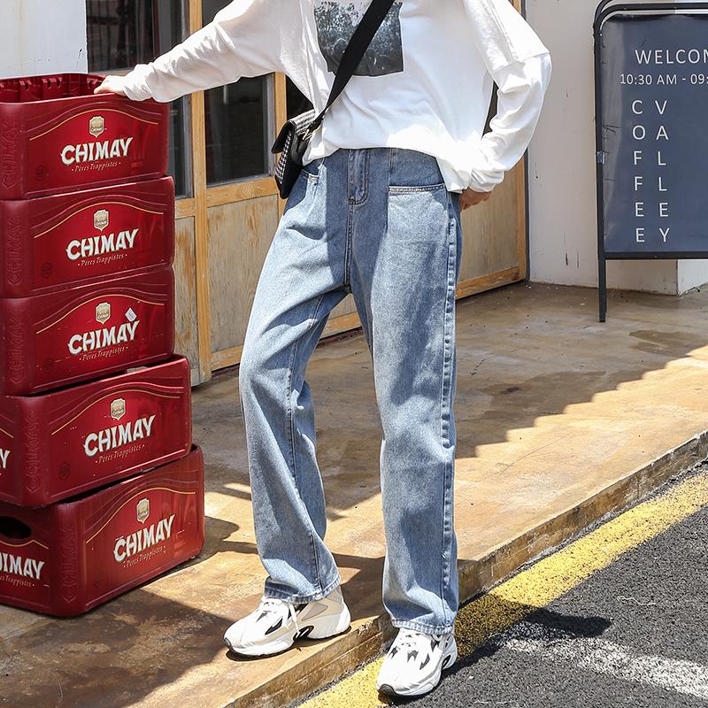 微胖女孩穿搭遮腿胖大码秋装牛仔裤包邮