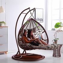 吊篮藤椅大人摇椅双人吊椅吊床室内摇篮椅秋千阳台懒人鸟巢吊兰椅