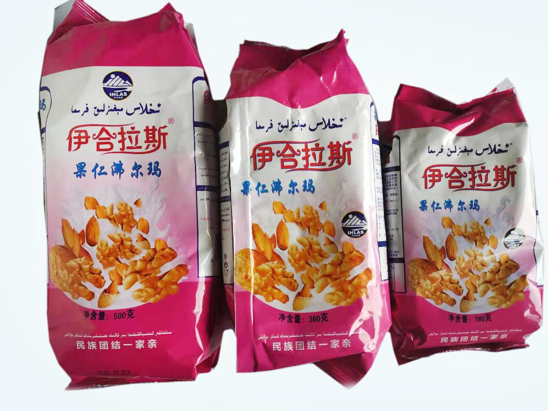 新疆伊合拉斯果仁沸尔玛粉奶茶粉500/360/180g正宗新疆奶茶粉
