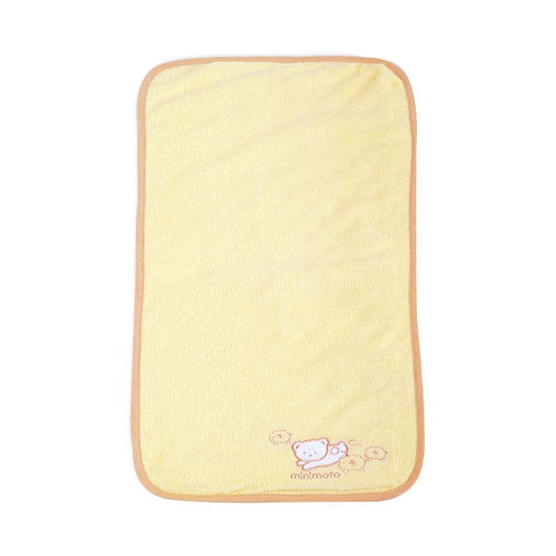 小米米minimoto嬰兒隔尿墊 防滲漏透氣 毛巾 童車隔尿墊52^~26CM