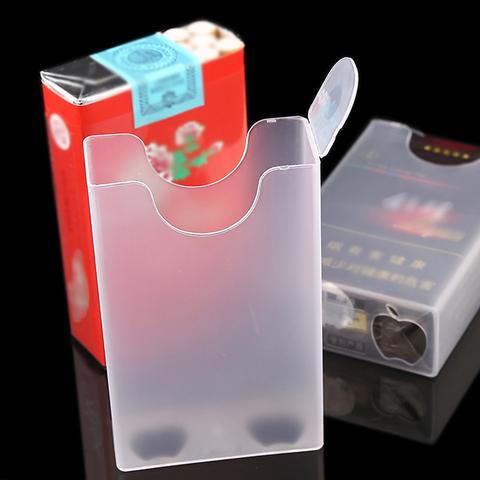 烟盒20支装超薄 男女个性创意烟盒套 整包软壳香菸透明塑料烟盒