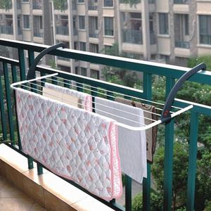 可折叠晾晒衣架阳台晾晒架鞋架室外窗台晾衣挂衣服浴室毛巾晒衣架