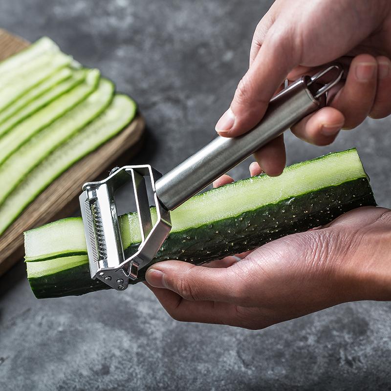 黄瓜切片器泡萝卜切大片土豆丝切丝切菜刨刀蔬菜片水果削剜刮瓜切