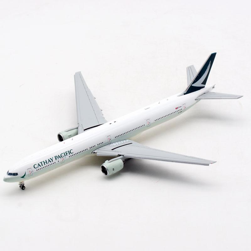 1/400 合金飞机模型 EW4773003A 国泰航空 B777-300 B-HNM 襟翼版
