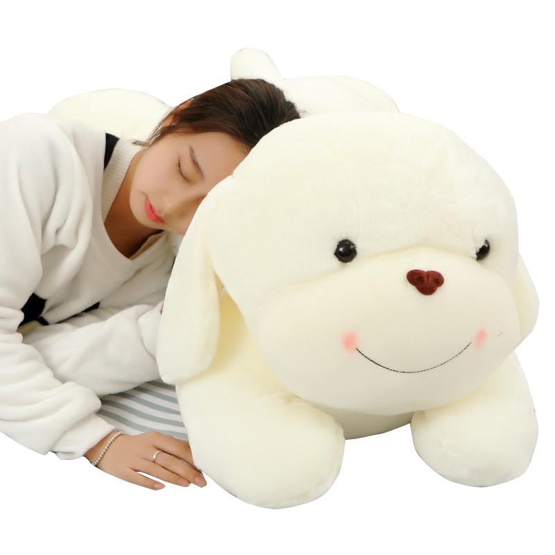 可愛趴趴狗毛絨玩具狗大號抱枕韓國娃娃公仔玩偶睡覺抱女孩超萌