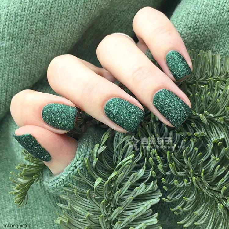 美国ZOYA流沙指甲油魔法圣诞星辰哑光磨砂绿ZP871ELPHIE仙女渐变