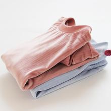 春秋冬季居家上衣女单件睡衣套头珊瑚绒长袖卫衣式保暖家居服上装