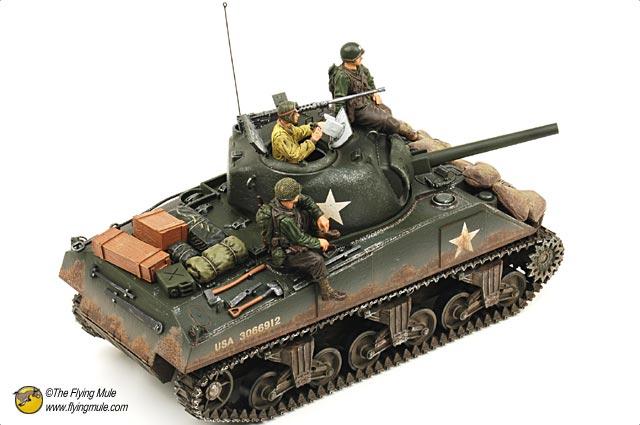 FOV 85007 1:16 二战美国谢尔曼坦克模型合金M4A3 狂怒坦克