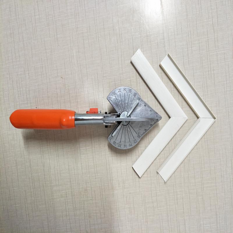 Экология панель Вырезать ножницы под прямым углом 45 градусов на 90 градусов алюминий Облицовка кромок полосатый зачистка пакет сторона полосатый Деревообрабатывающие ножницы