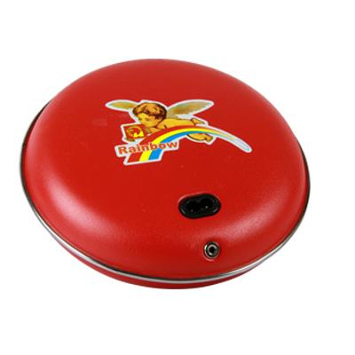彩虹暖手寶充電暖手器暖手餅電熱寶電暖寶安全防爆大中小號電熱餅