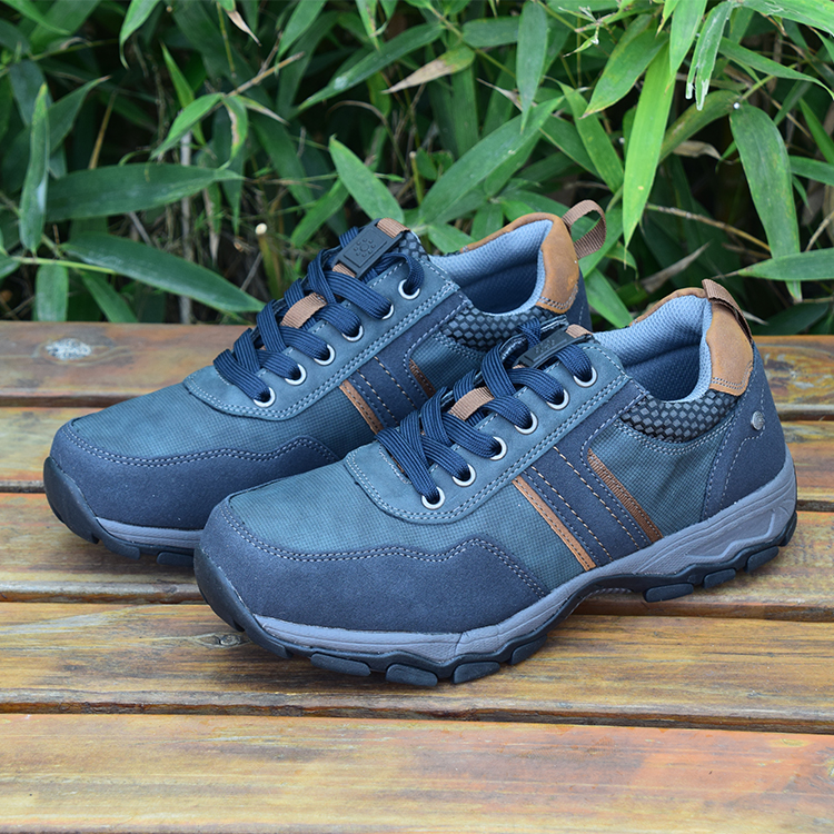 Spring mens leisure sports hiking shoes, travel shoes, antiskid mountaineering shoes, low top running shoes, size 39