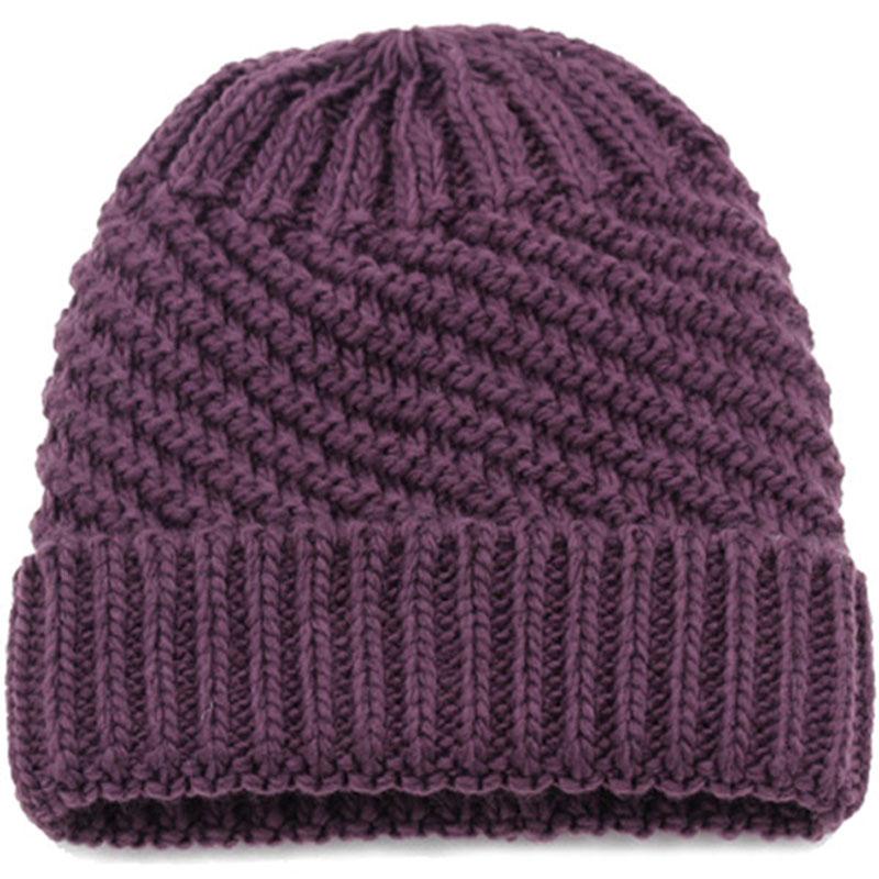 老太太毛线帽子单层薄款春秋针织帽婆婆帽妈妈帽中老年秋冬帽子女图片