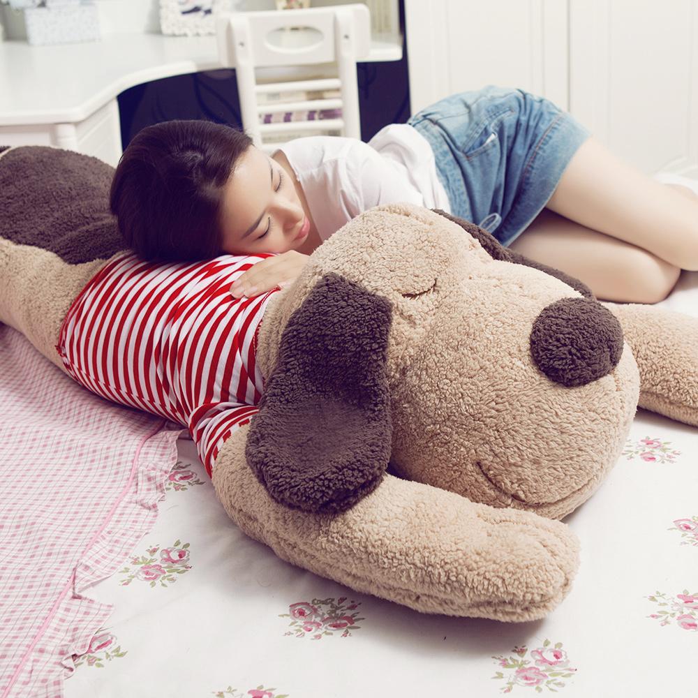 趴趴狗毛绒玩具娃娃大号睡觉抱枕公仔长条枕玩偶韩国搞怪超萌女孩