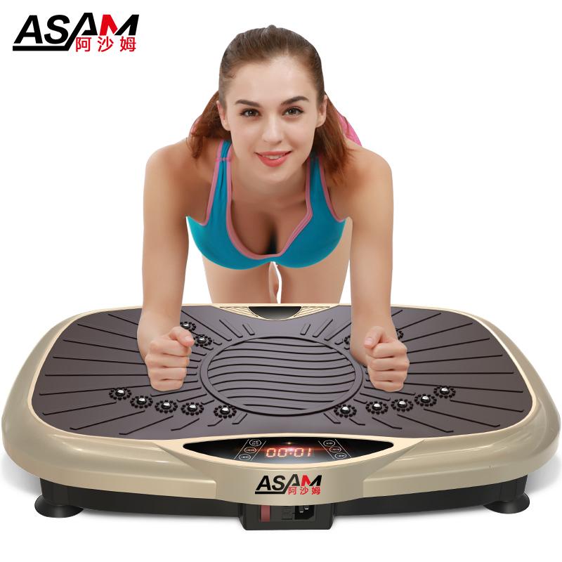 抖抖机甩脂机瘦腰瘦腿瘦肚子神器家用懒人运动健身器材摔脂减肥机