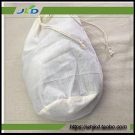 1个装50*60cm圆柱型纱布袋茶包袋煎药调料煲汤过滤隔渣卤料包袋
