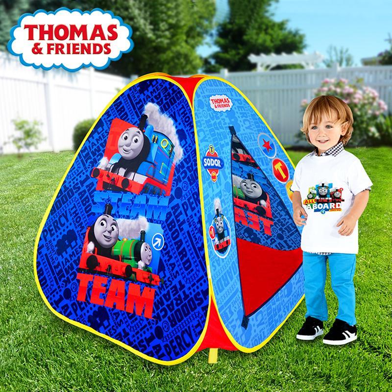 托马斯儿童帐篷室内外玩具游戏屋公主宝宝过家家女孩折叠大房子