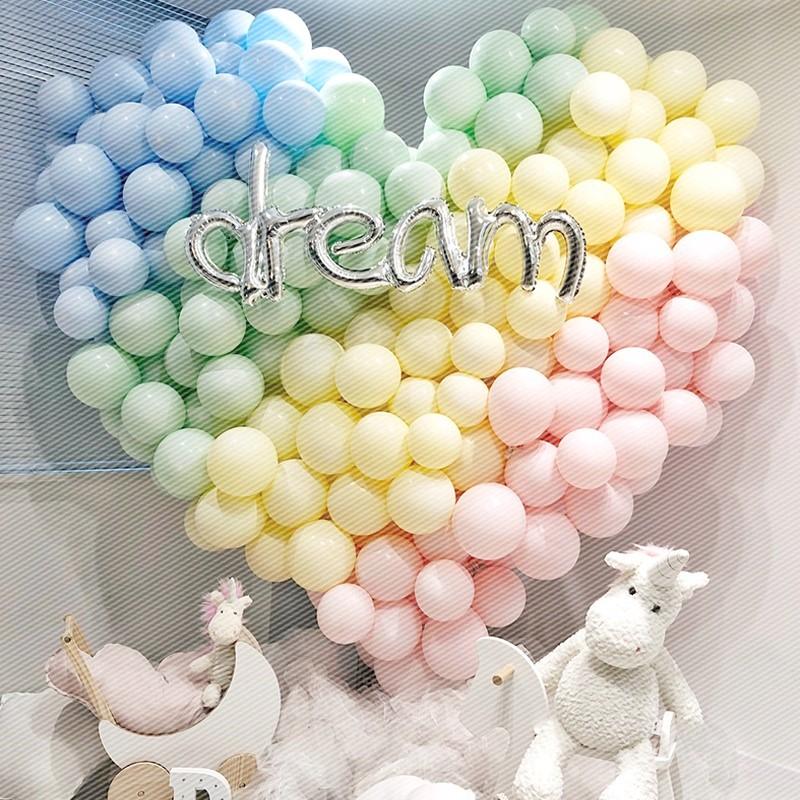 10寸气球结婚庆用品儿童生日求婚布置拱门装饰