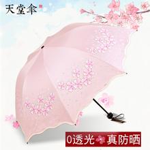 【天堂伞】防晒防紫外线遮阳小清新晴雨伞