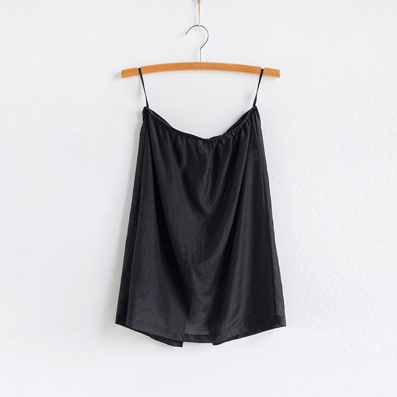 旅途原品 生活研究所 品质丝棉半身裙内搭衬裙女装包臀裙子[轻拂]