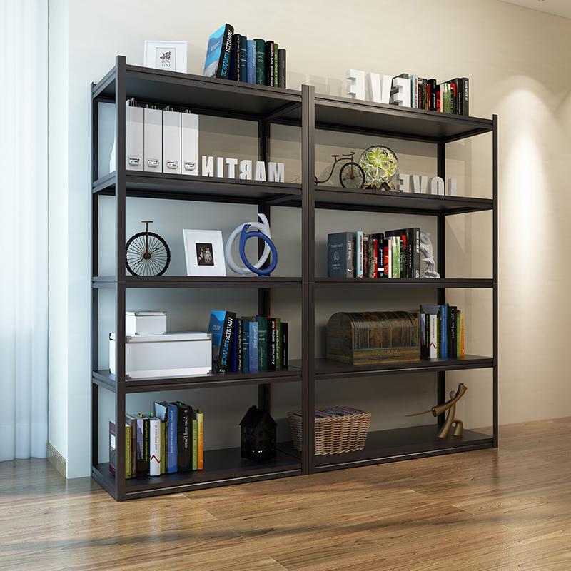 卧室金属落地置物架阳台收纳架子客厅厨房储物架房间多层简易书架