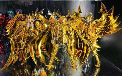 现货传神模型黄金三巨头圣衣斗士神话EX天贵星米诺斯天雄星天猛星