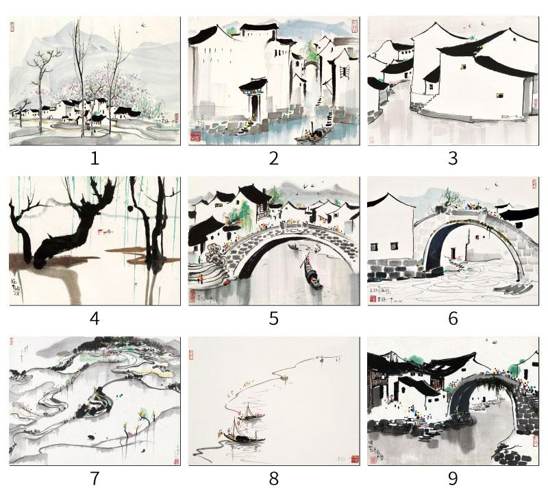 Китайская живопись Артикул 45216177577