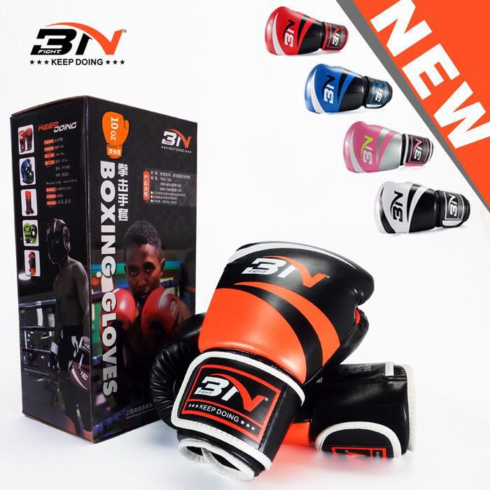 BN / keep doing boxing, Sanda, Thai boxing, taekwondo, boxing gloves for childrens training