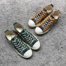 先到先得卖完为止学生格子帆布低帮鞋元一双女鞋16你没看错