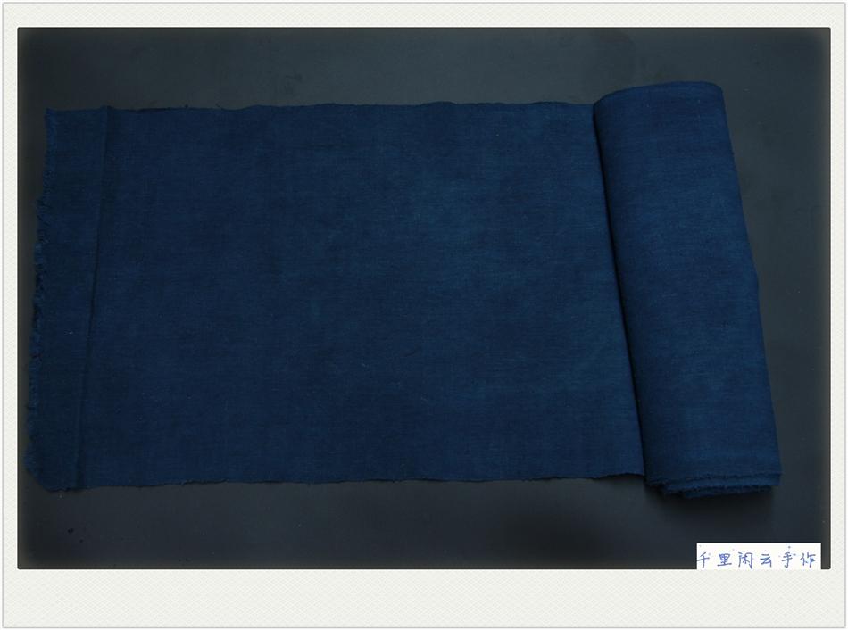 Завод краситель земля ткань ручной работы спин тканые ткань краситель цилиндр земля хлопок синей ткани C274