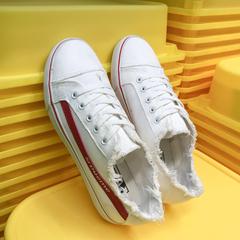 韩版男士帆布鞋港风鞋子 QT717-Y11-P40