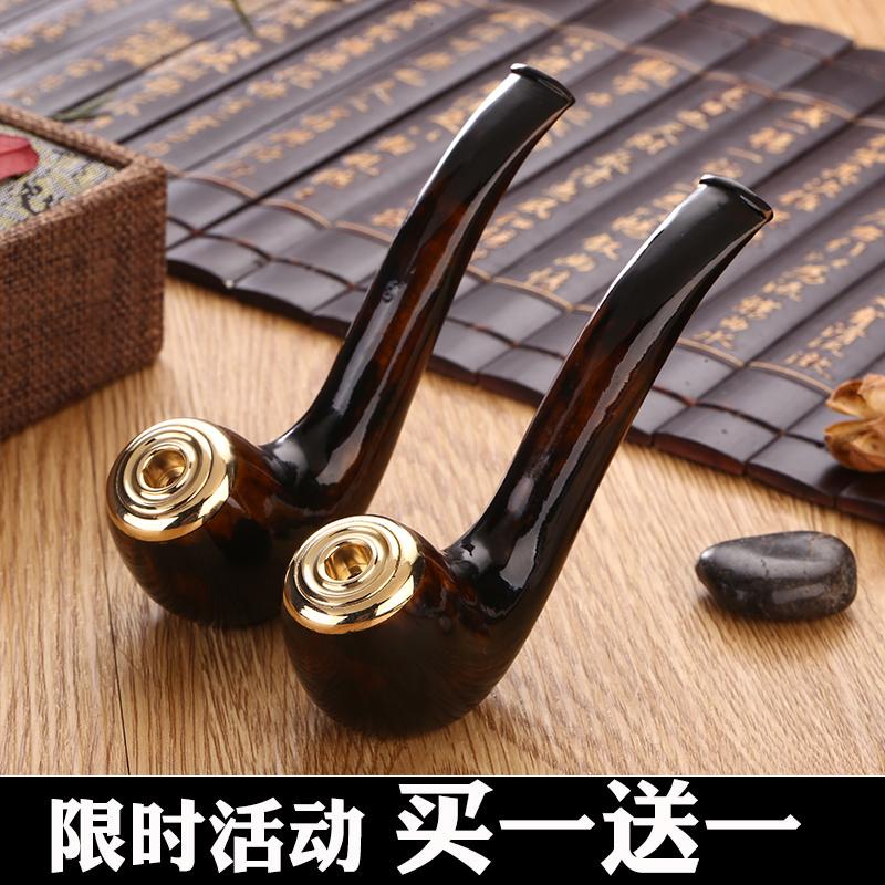 厂家直销 亿辉海柳烟丝烟支 两用烟斗烟嘴 双重过滤可清洗包邮