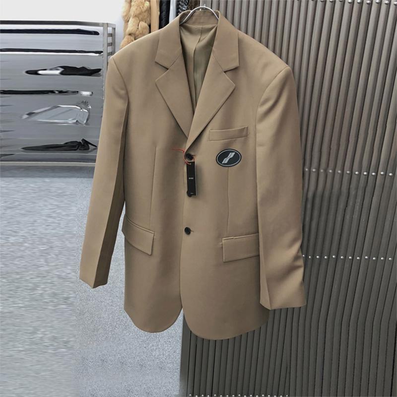 西装外套女ins2020秋季新款韩版英伦风休闲宽松小西服上衣中长款