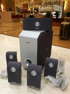 Hi-Fi системы,  Philips нет источник 5.1 динамик  6.5 дюймовый сабвуфер в положить кольцо вокруг установите 2 филиал частота с высокой звук хотеть подключать усилитель, цена 873 руб