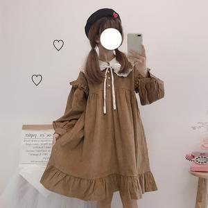网红萝莉款秋装2019年新款连衣裙