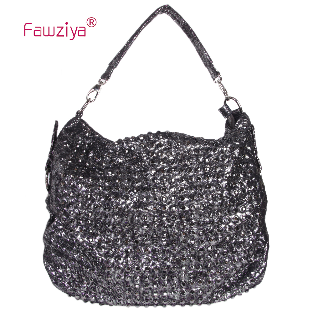 Fanziyas Tramp style womens shoulder bag decorated with rivets