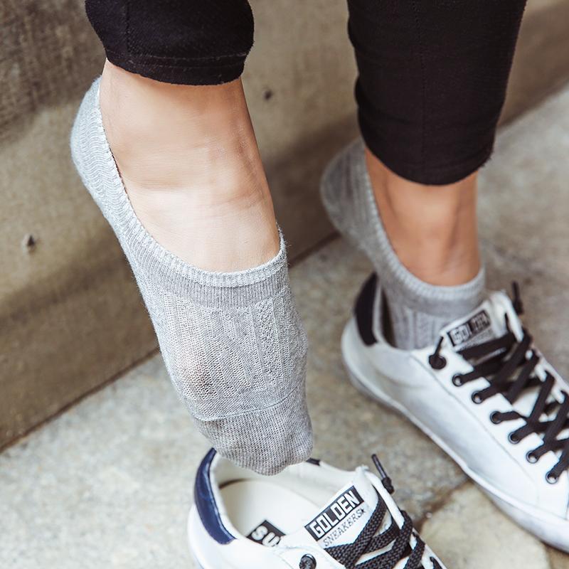 薄棉船袜女韩国纯棉短袜防滑袜套麻花螺纹浅口豆豆鞋隐形袜子春夏