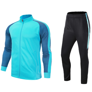 2019年冬季训练服运动休闲跑步服装套装男运动服两件套足球训练服